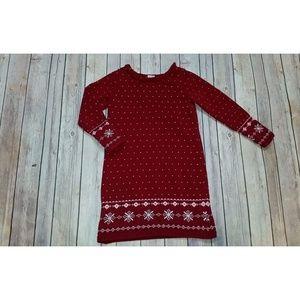 Gymboree Alpine Sweetie Fair Isle Sweater Dress